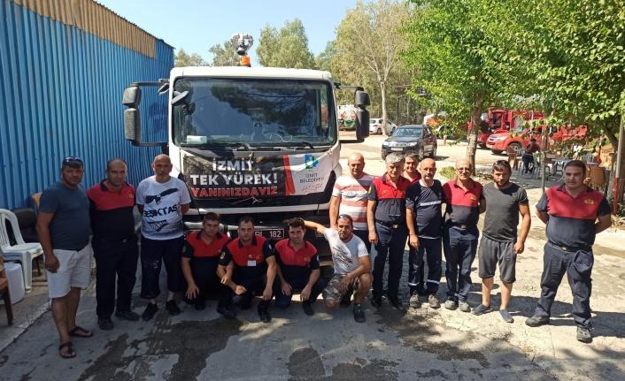 İZBAK, ayağının tozuyla Ege'den Karadeniz'e de desteğe gidiyor