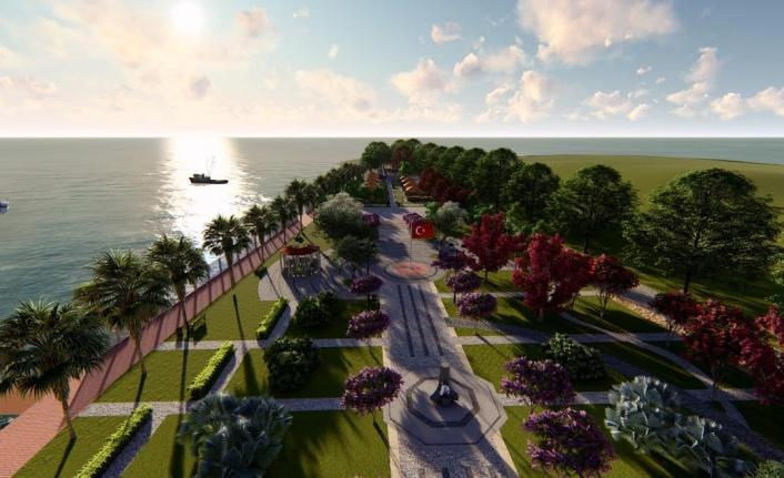 Körfez'de Anıtpark için çalışmalar başlıyor