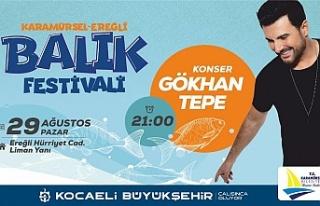 Karamürsel-Ereğli'de, Balık Festivali heyecanı...
