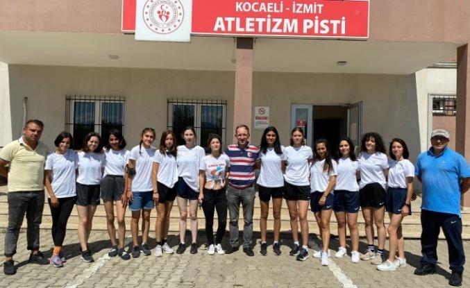 İzmitli Atletler Süper Lig için İstanbul'a gidiyor