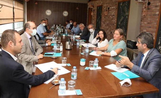 Akıllı Şehir Projesi'nde değerlendirme toplantısı yapıldı