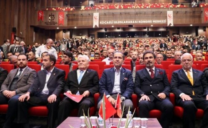 Erbakan, Kocaeli'de gündeme ilişkin değerlendirmelerde bulundu