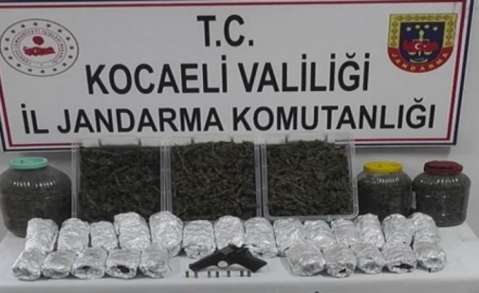Uyuşturucu ile Mücadele kapsamında (4.380) gram esrar ele geçirildi